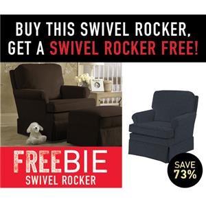 Doris Swivel Rocker with Freebie Swivel Rock