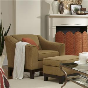 Vendor 411 Emeline Custom Chair & Ottoman
