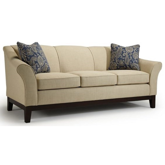 Best Home Furnishings Emeline Customizable Sofa - Item Number: S90E