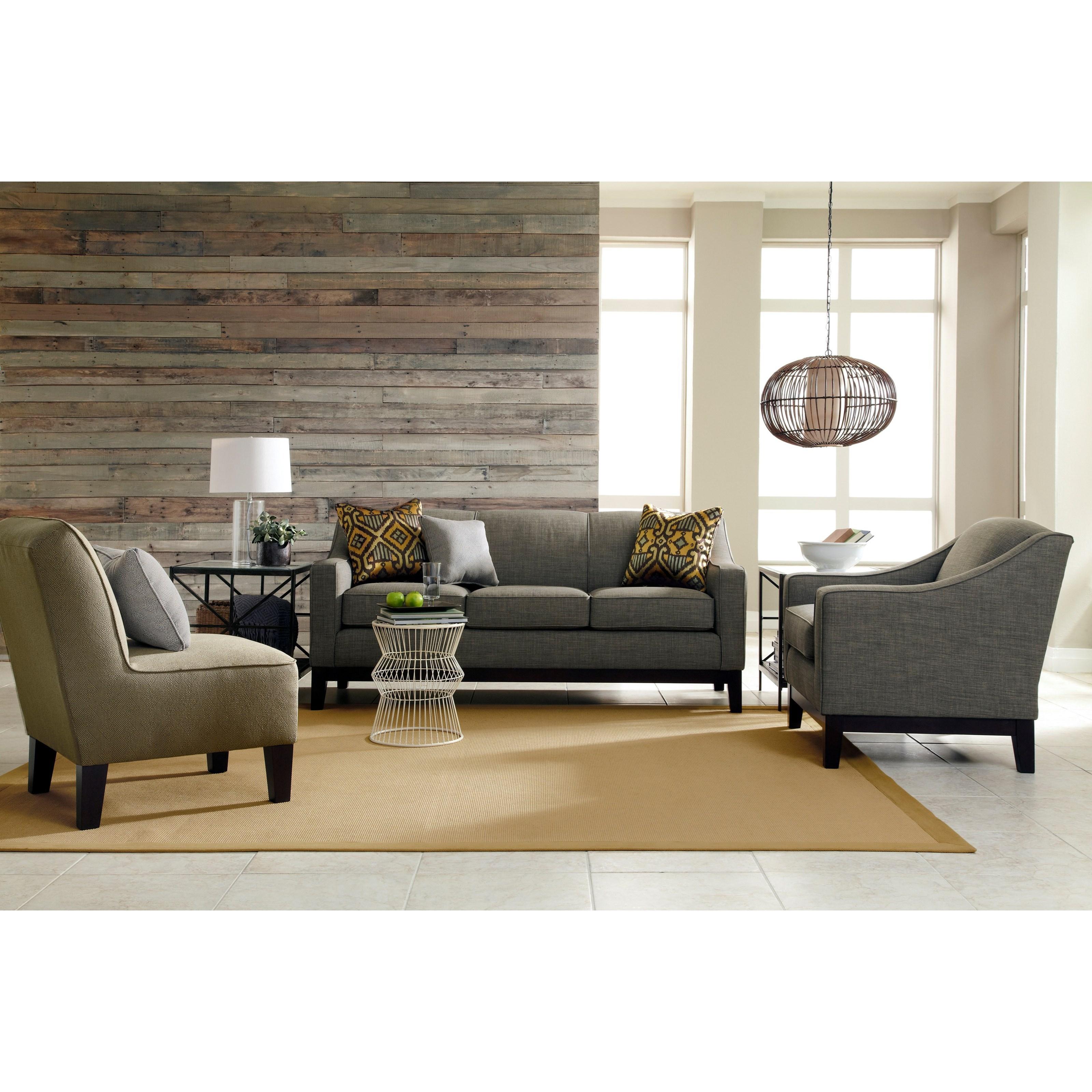 "Home Best Furniture: Best Home Furnishings Emeline S91E Customizable 84"" Sofa"