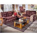 Morris Home Furnishings Everlasting Power Reclining Love Seat Chaise