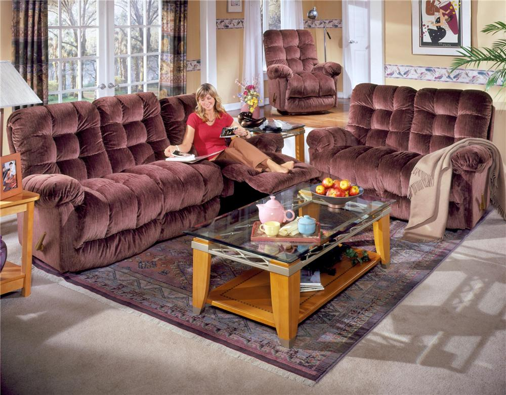 Best home furnishings everlasting reclining sofa chaise for Best home furnishings