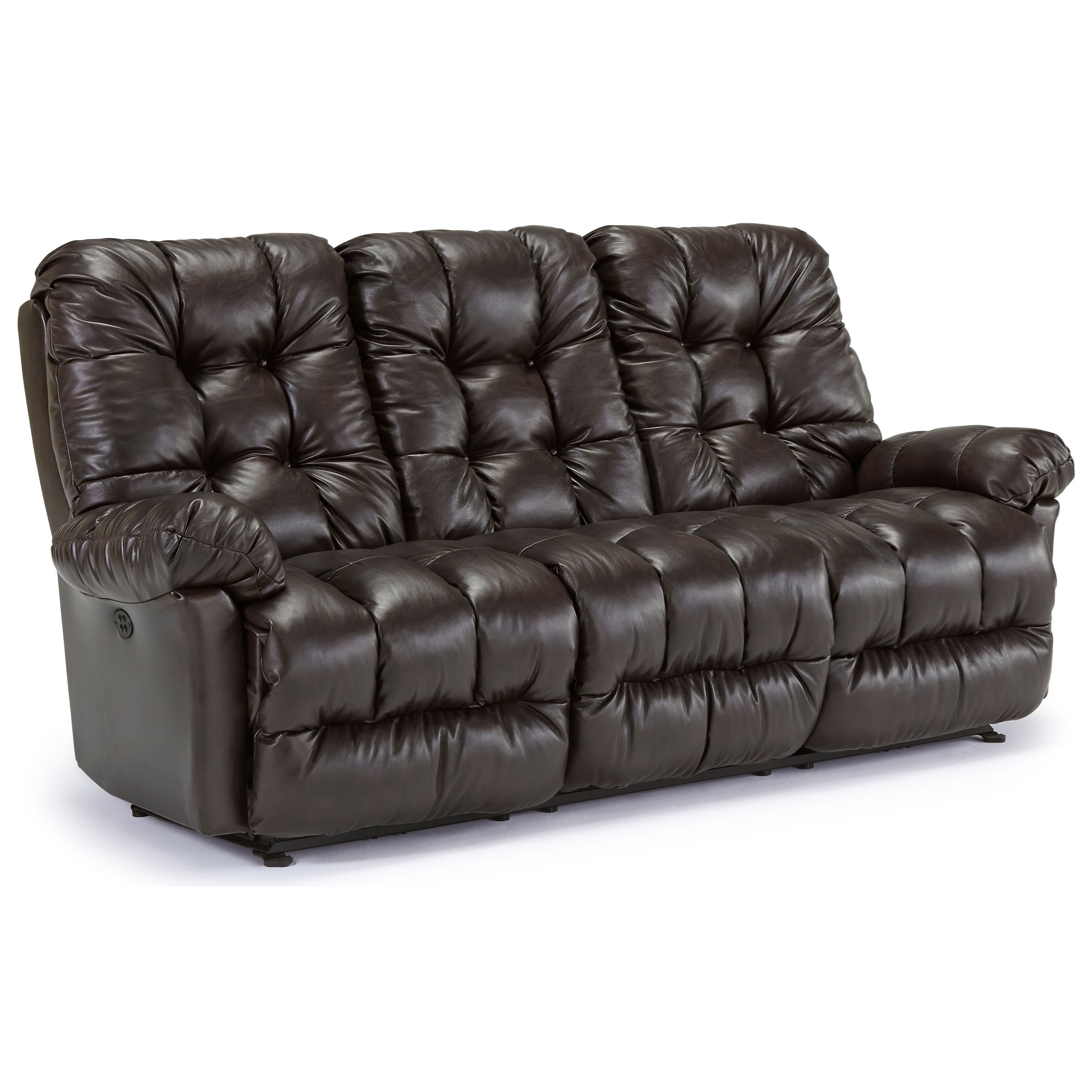 Best Home Furnishings Everlasting Power Reclining Sofa - Item Number: S515CP4-75816L