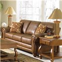 Best Home Furnishings Fitzpatrick Traditional 3-Seat Stationary Sofa - Shown in Room Setting