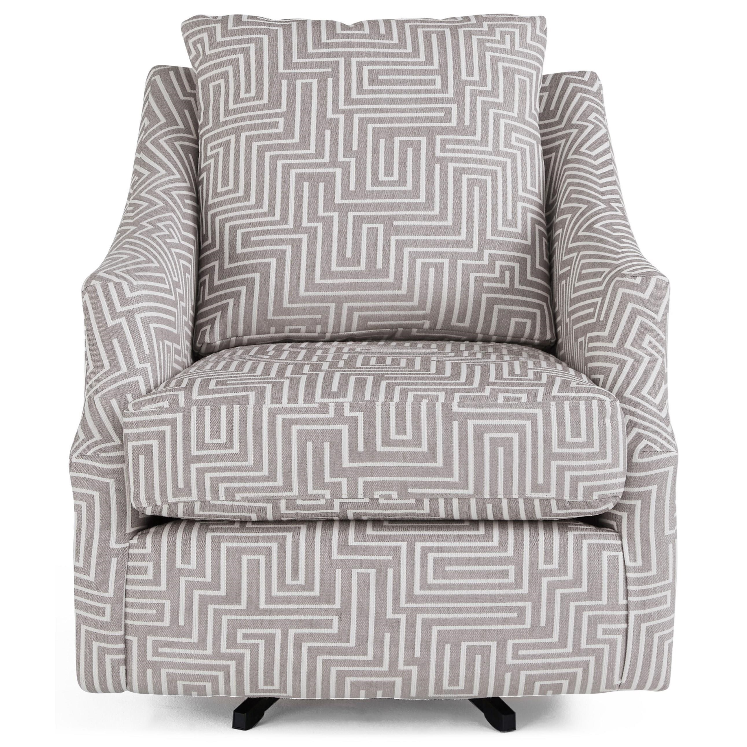 Flutter Swivel Chair by Best Home Furnishings at Baer's Furniture