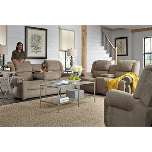 Best Home Furnishings Genet Reclining Living Room Group