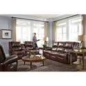 Best Home Furnishings Genet Reclining Living Room Group - Item Number: S960 Living Room Group 8