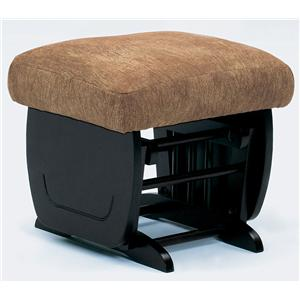 Best Home Furnishings Glide Rocker and Ottomans Brendan Glide Ottoman