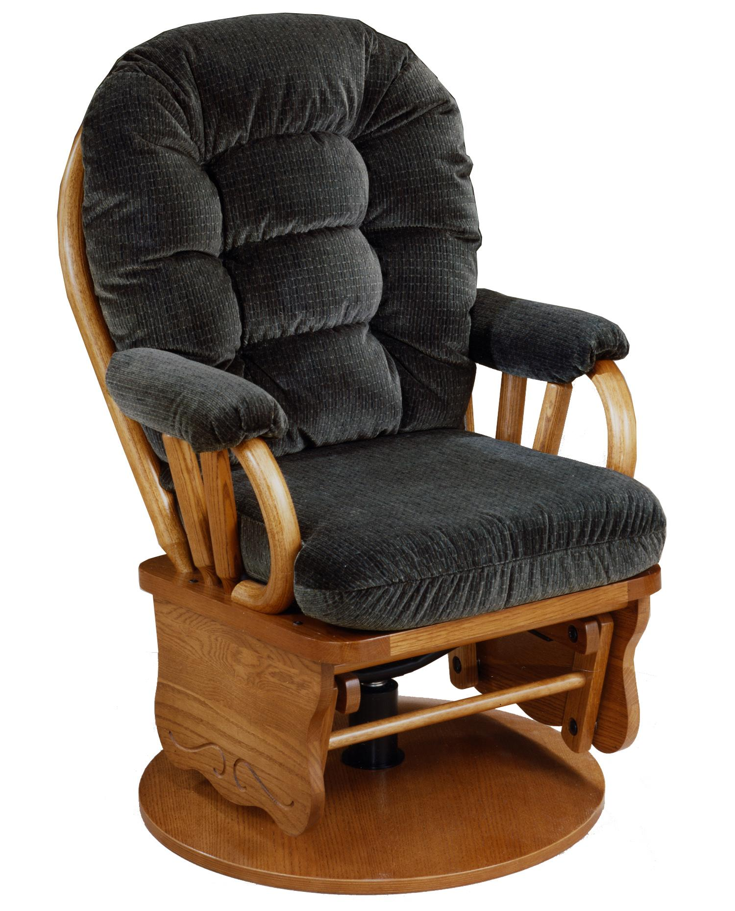 Best Home Furnishings Glide Rocker and Ottomans Bedazzle Swivel Glide Rocker - Item Number: C8109MO