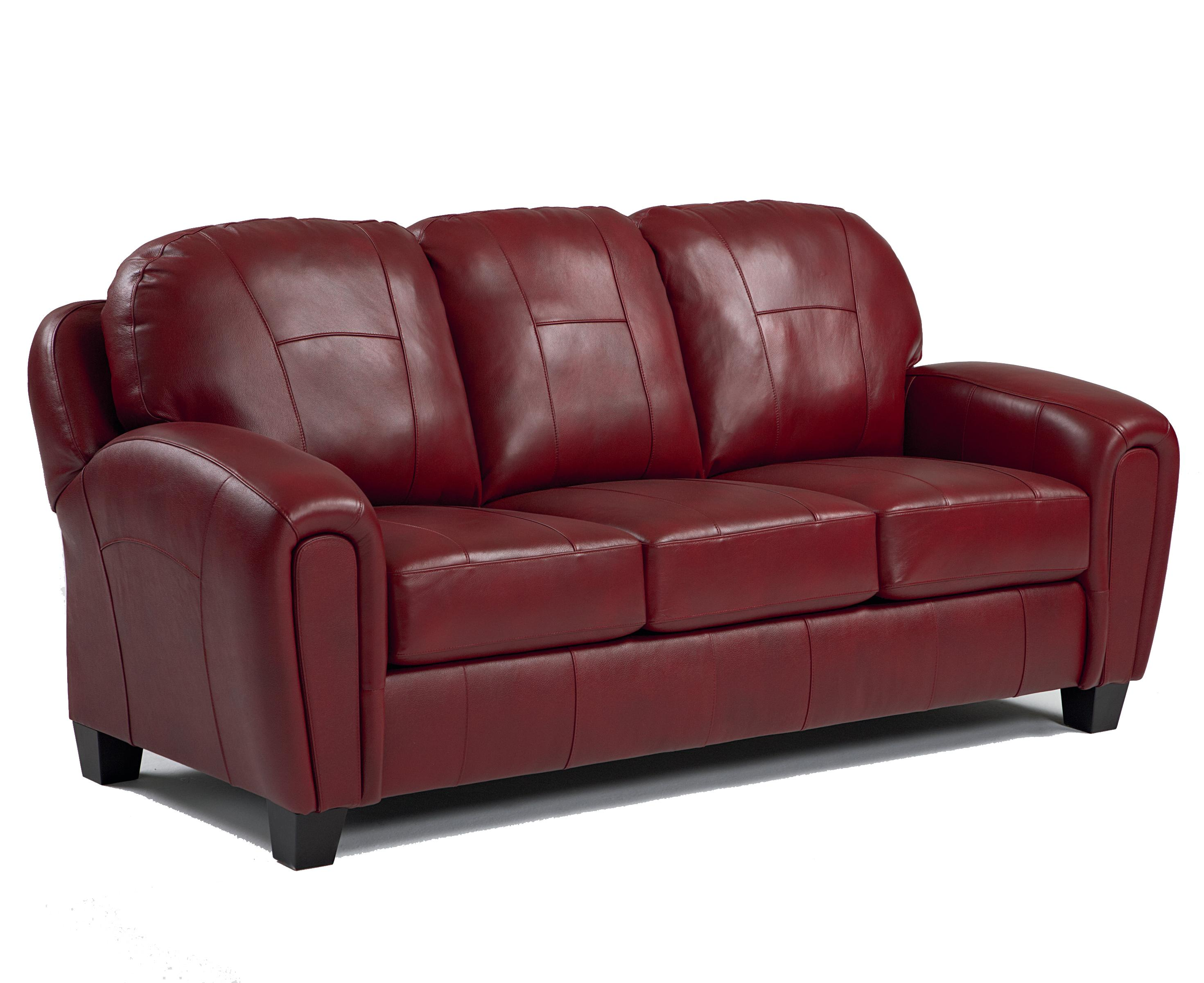 Best Home Furnishings Hammond Sofa with Track Arms and Block Feet