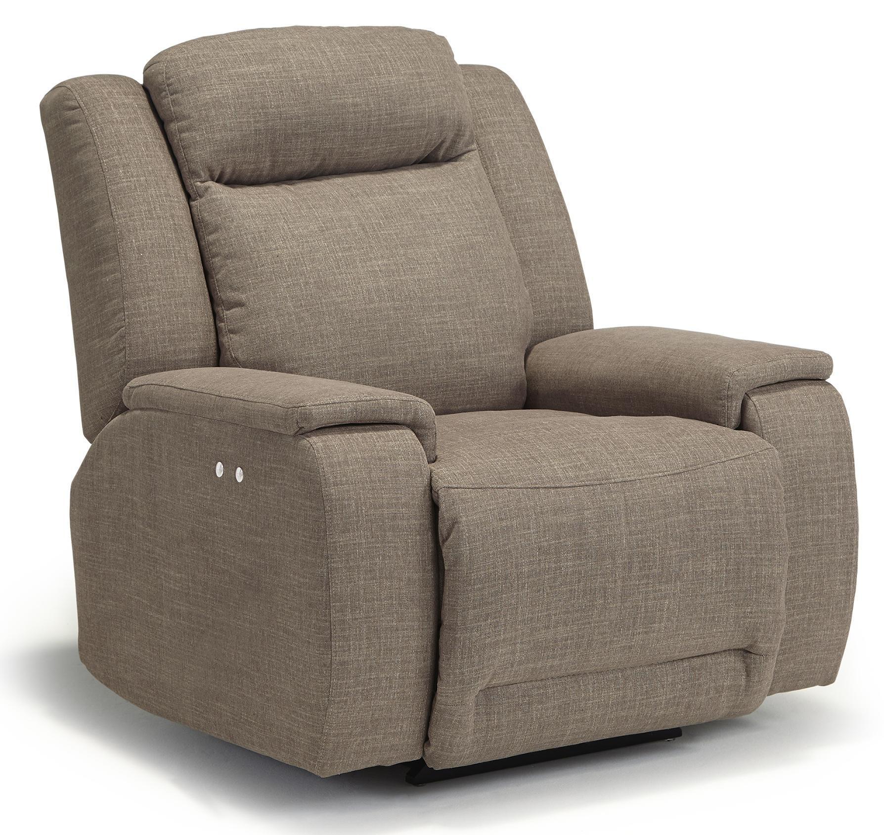 Best Home Furnishings Hardisty Power Space Saver Recliner - Item Number: 6NP84-24699