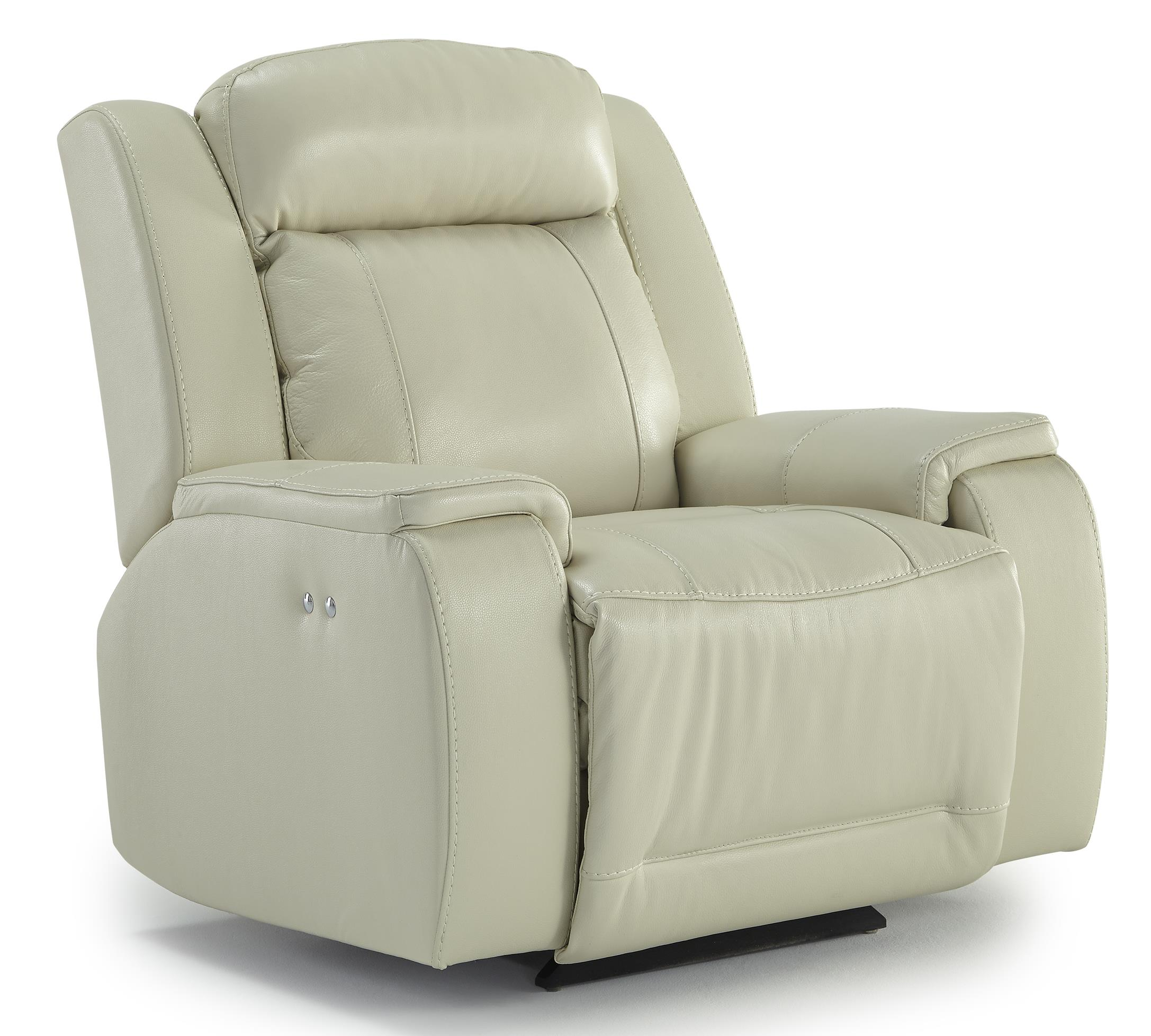 Best Home Furnishings Hardisty Power Space Saver Recliner - Item Number: 6NP84LV-76507LV