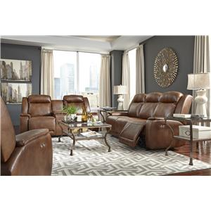 Best Home Furnishings Hardisty Reclining Living Room Group