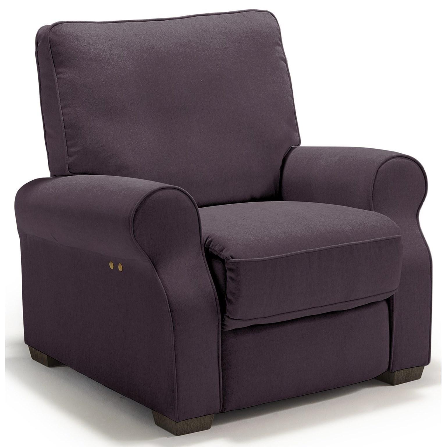 Best Home Furnishings Hattie High Leg Recliner - Item Number: -110006788-21168C