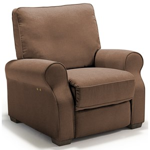 Best Home Furnishings Hattie High Leg Recliner