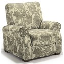 Best Home Furnishings Hattie High Leg Recliner - Item Number: -110006788-28723
