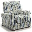 Best Home Furnishings Hattie High Leg Recliner - Item Number: -110006788-31322