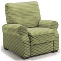 Best Home Furnishings Hattie High Leg Recliner - Item Number: -110006788-33541