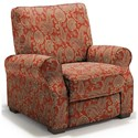 Best Home Furnishings Hattie High Leg Recliner - Item Number: -110006788-34064
