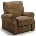 Best Home Furnishings Hattie High Leg Recliner - Item Number: -110006788-34718