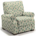 Best Home Furnishings Hattie High Leg Recliner - Item Number: -110006788-35532