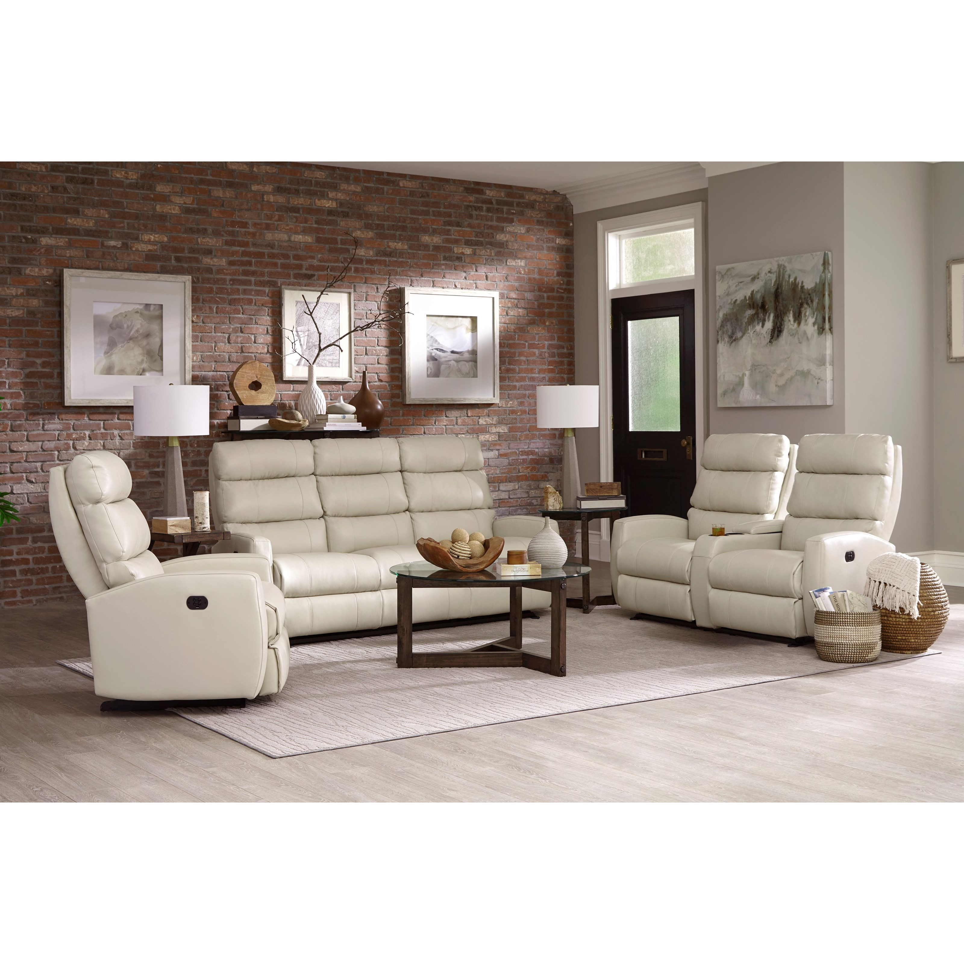 Best Home Furnishings Hillarie S615cp4 80 Inch Power