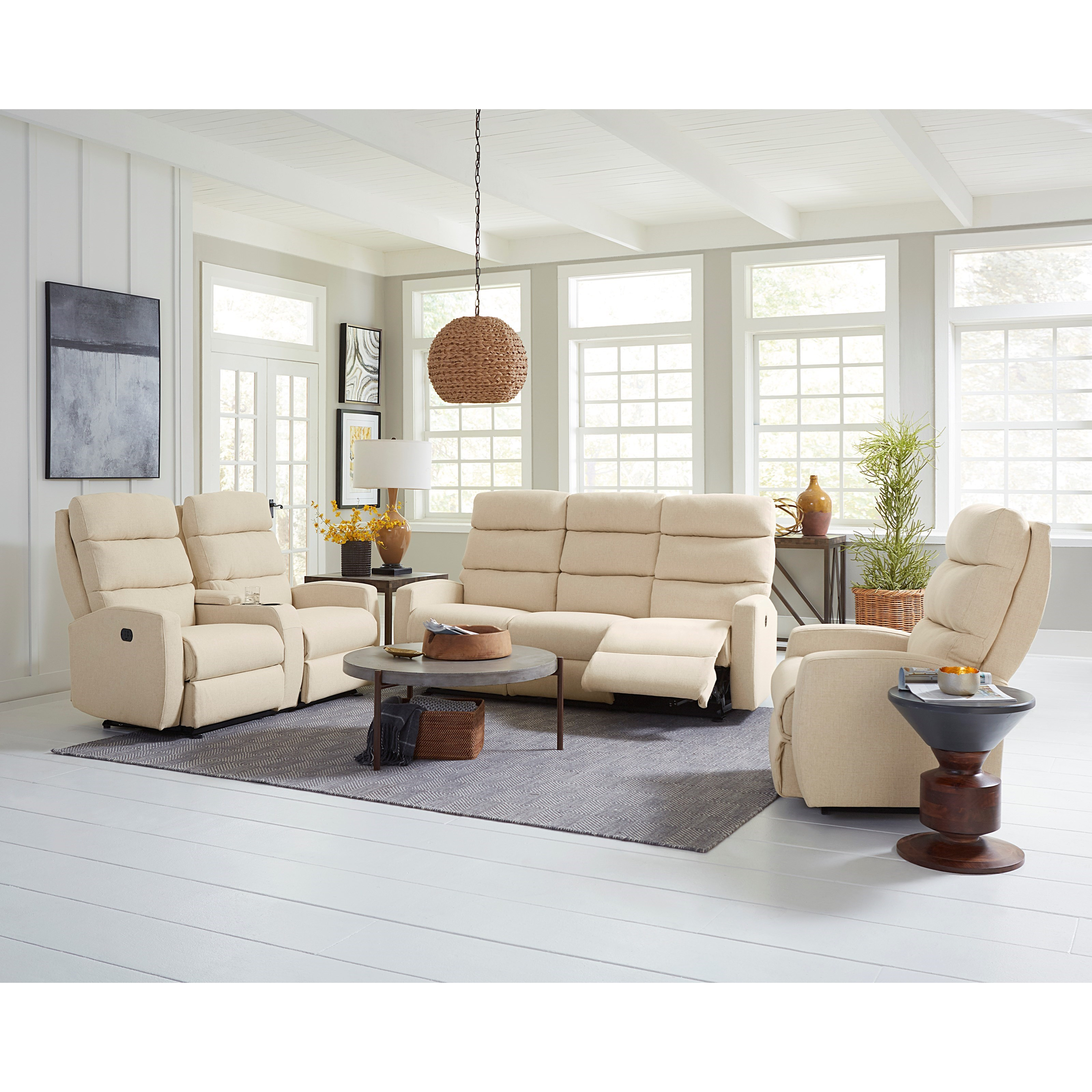 Best Home Furnishings Hillarie 80 Inch Reclining Wall