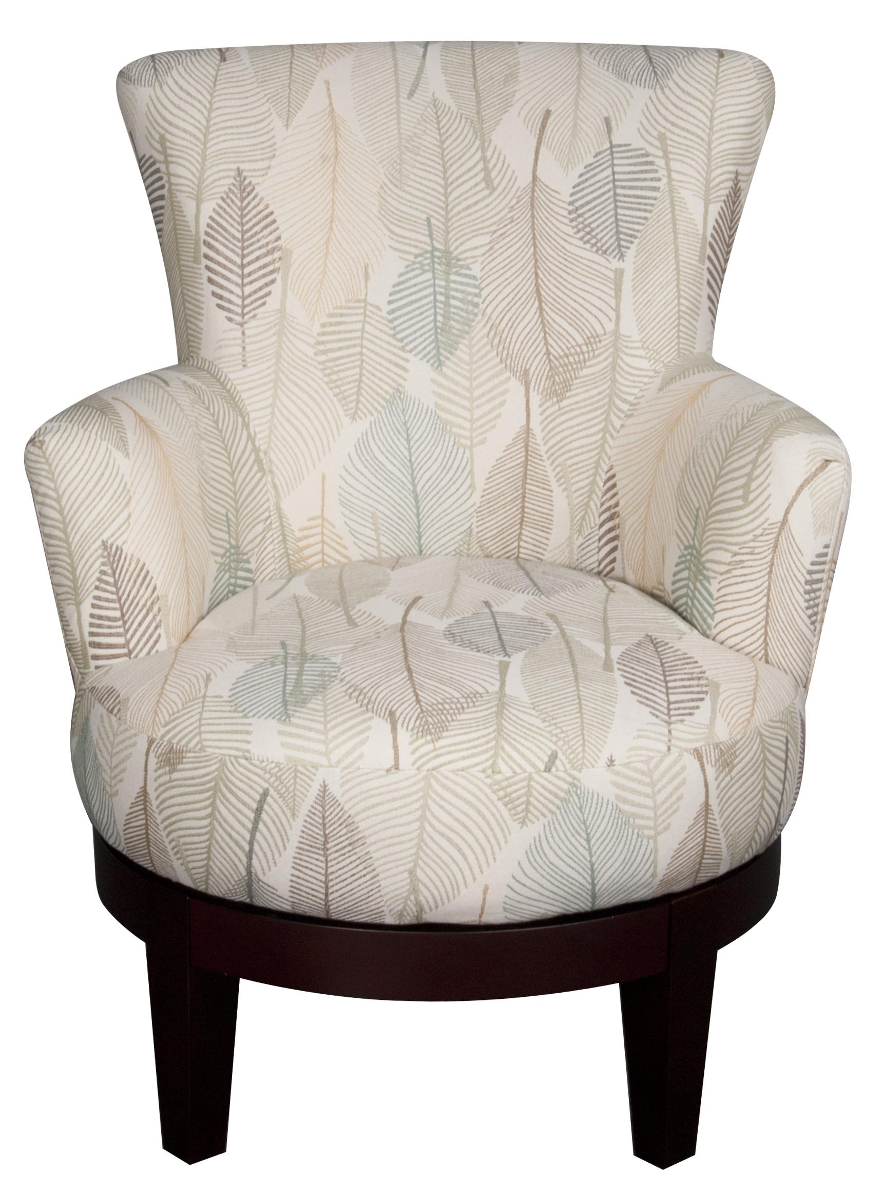 Jayda Jayda Swivel Chair by Best Home Furnishings at Morris Home