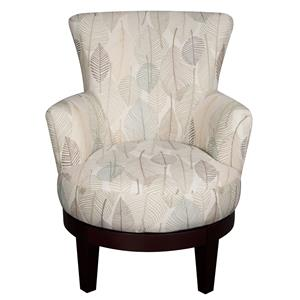 Morris Home Furnishings Jayda Jayda Swivel Chair