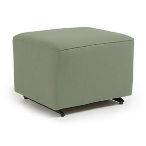 Best Home Furnishings Kacey Ottoman W/ Glider Base
