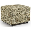 Best Home Furnishings Kacey Ottoman W/ Glider Base - Item Number: 0016-24547