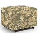 Best Home Furnishings Kacey Ottoman W/ Glider Base - Item Number: 0016-27223