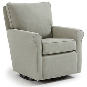 Best Home Furnishings Kacey Swivel Glider Chair