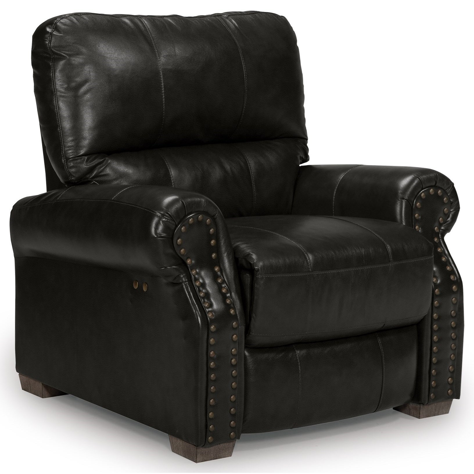 Best Home Furnishings Lander Power High Leg Recliner - Item Number: 409314438-24623AU