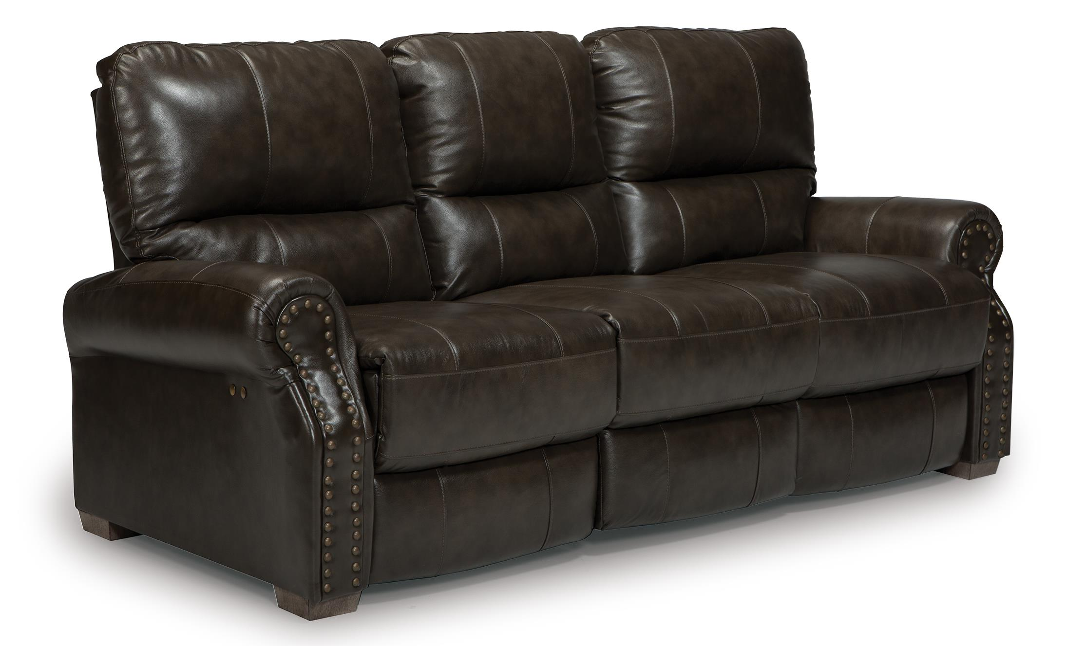 Best Home Furnishings Lander Power Reclining Sofa - Item Number: S915CP2-73106LV