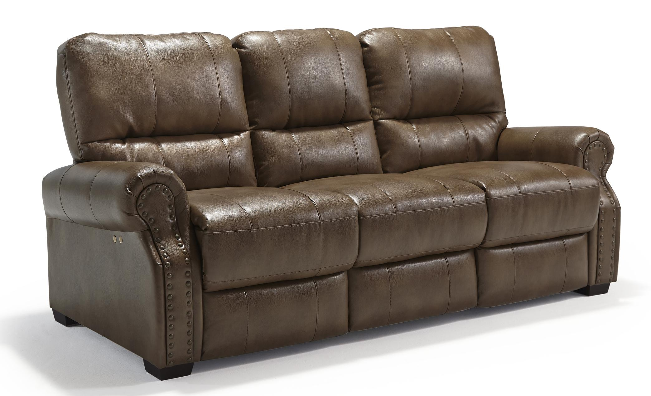 Best Home Furnishings Lander Power Reclining Sofa - Item Number: S915UP2-26766U