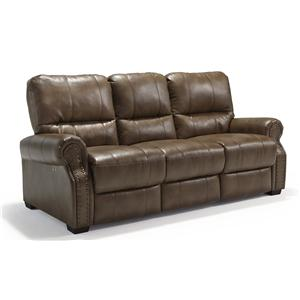 Morris Home Furnishings Lander Power Reclining Sofa