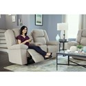 Best Home Furnishings Leo Power Tilt Head/Lumbar Space Saver Reclining Loveseat with Cupholder Storage and USB Charging Ports