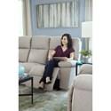 Best Home Furnishings Leo Power Tilt Head/Lumbar Space Saver Reclining Sofa with USB Charging Ports