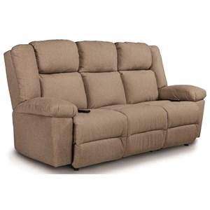 Best Home Furnishings Leo Pwr Tilt Head/Lumbar Wall Sav Reclining Sofa