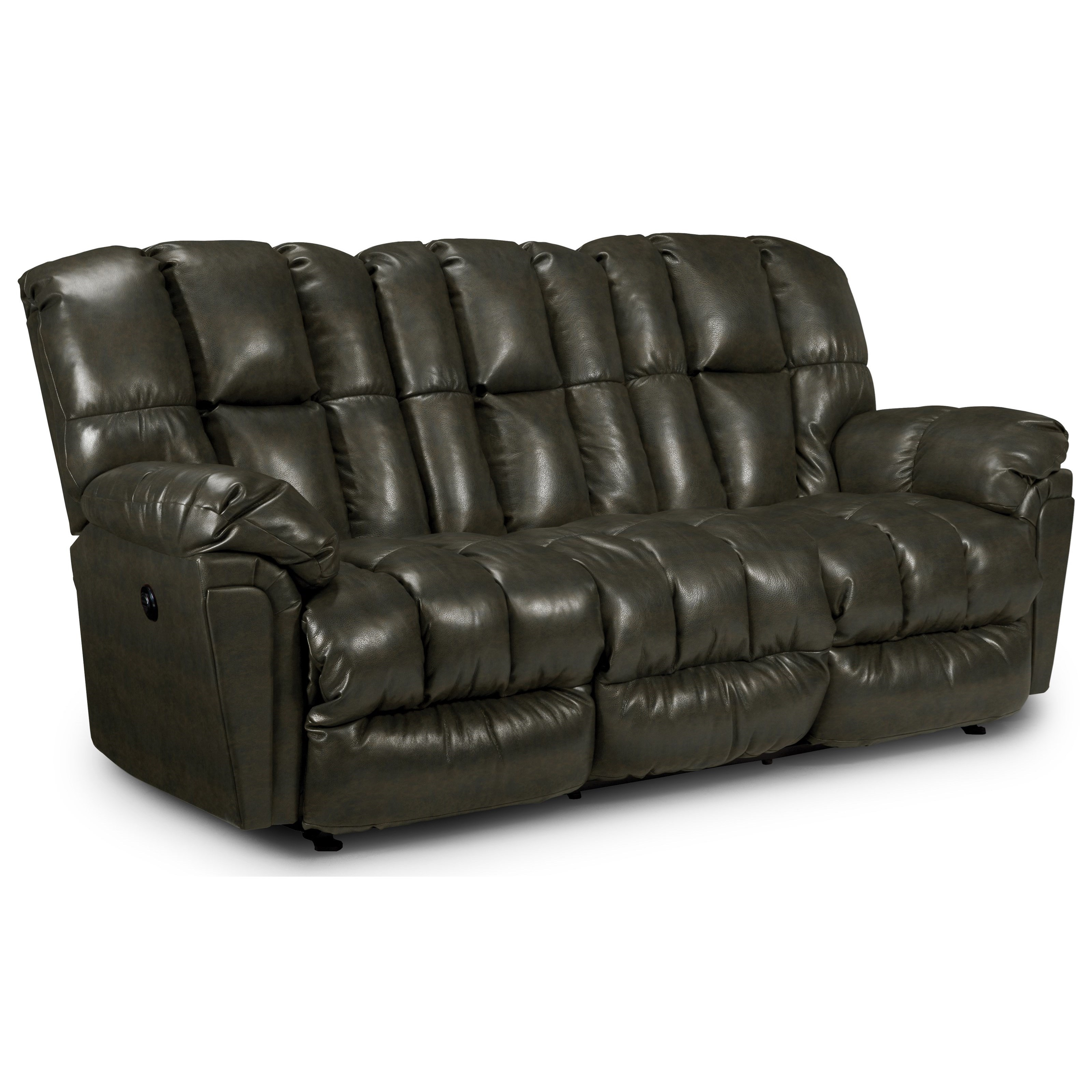 Best Home Furnishings Lucas Casual Plush Power Reclining Sofa with