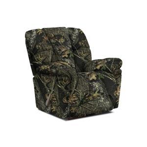 Best Home Furnishings Lucas Camouflage Rocker Recliner