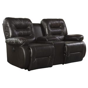Best Home Furnishings Maddox Power Rocker Console Loveseat