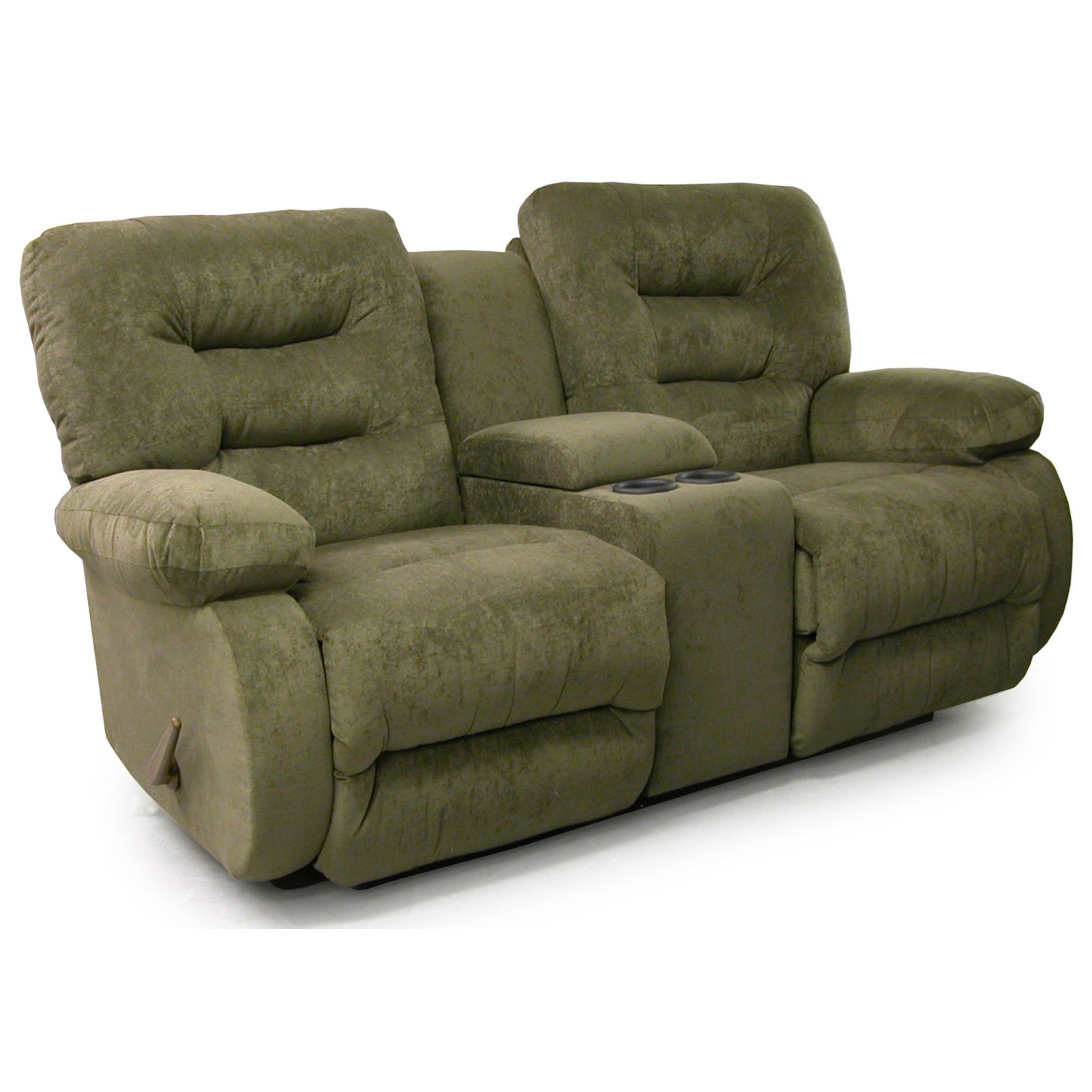 Power Rocker Console Loveseat