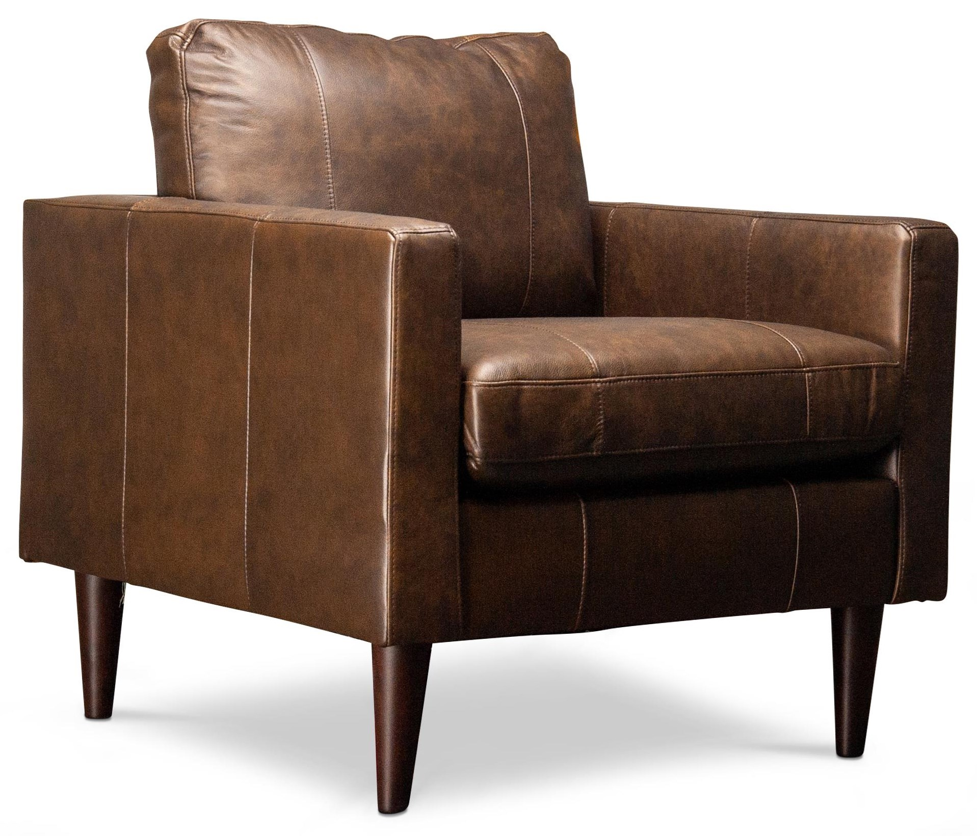Madelyn Madelyn Leather Chair by Best Home Furnishings at Morris Home