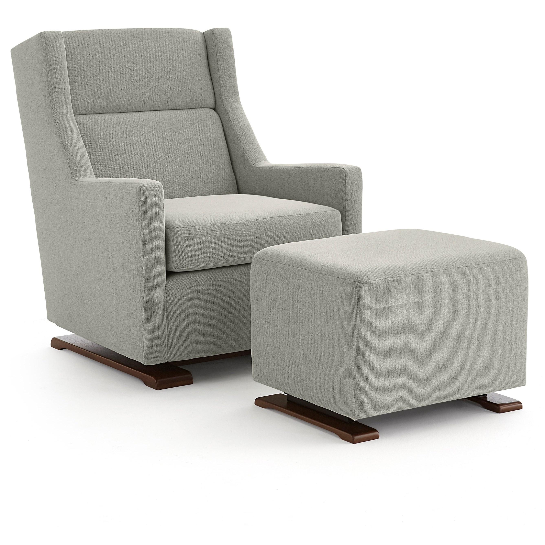 Best Home Furnishings Mandini Casual Swivel Gliding Chair