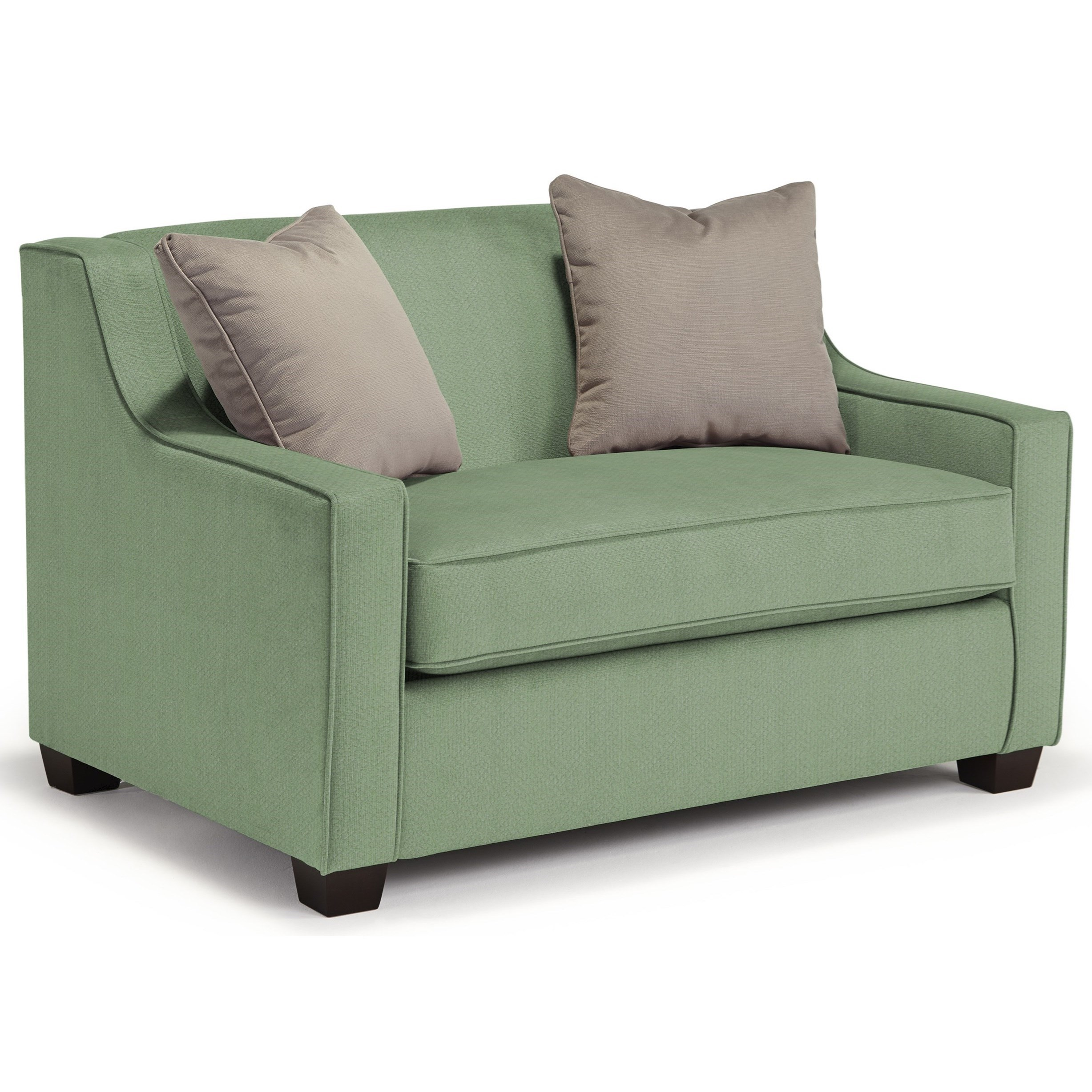 Marinette Twin Air Dream Sleeper Chair by Best Home Furnishings at Baer's Furniture