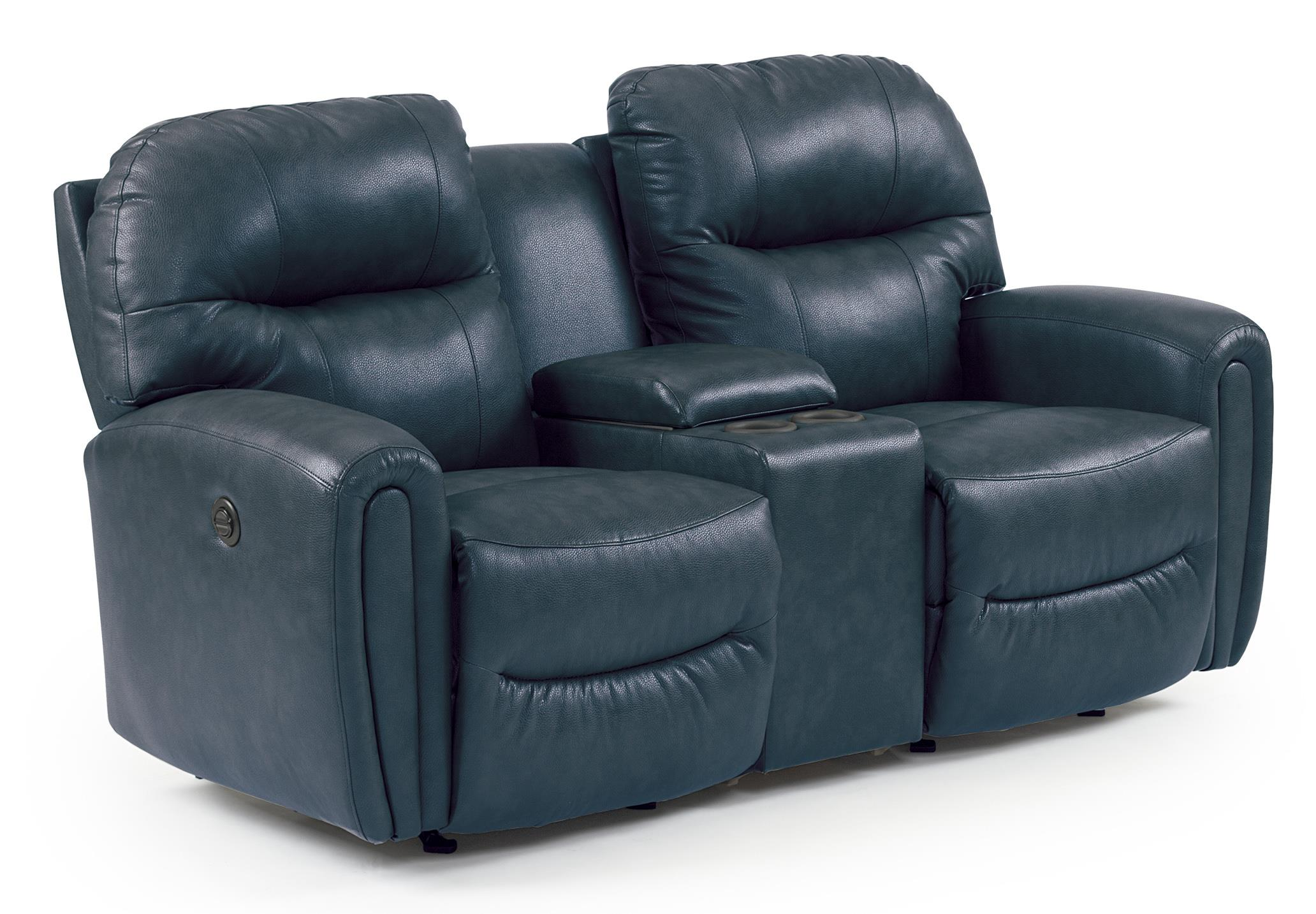 Best Home Furnishings Markson Power Rocker Console Loveseat - Item Number: L860CQ7