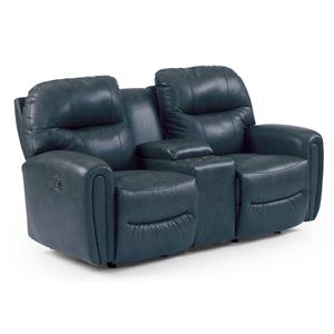Best Home Furnishings Markson Power Rocker Console Loveseat