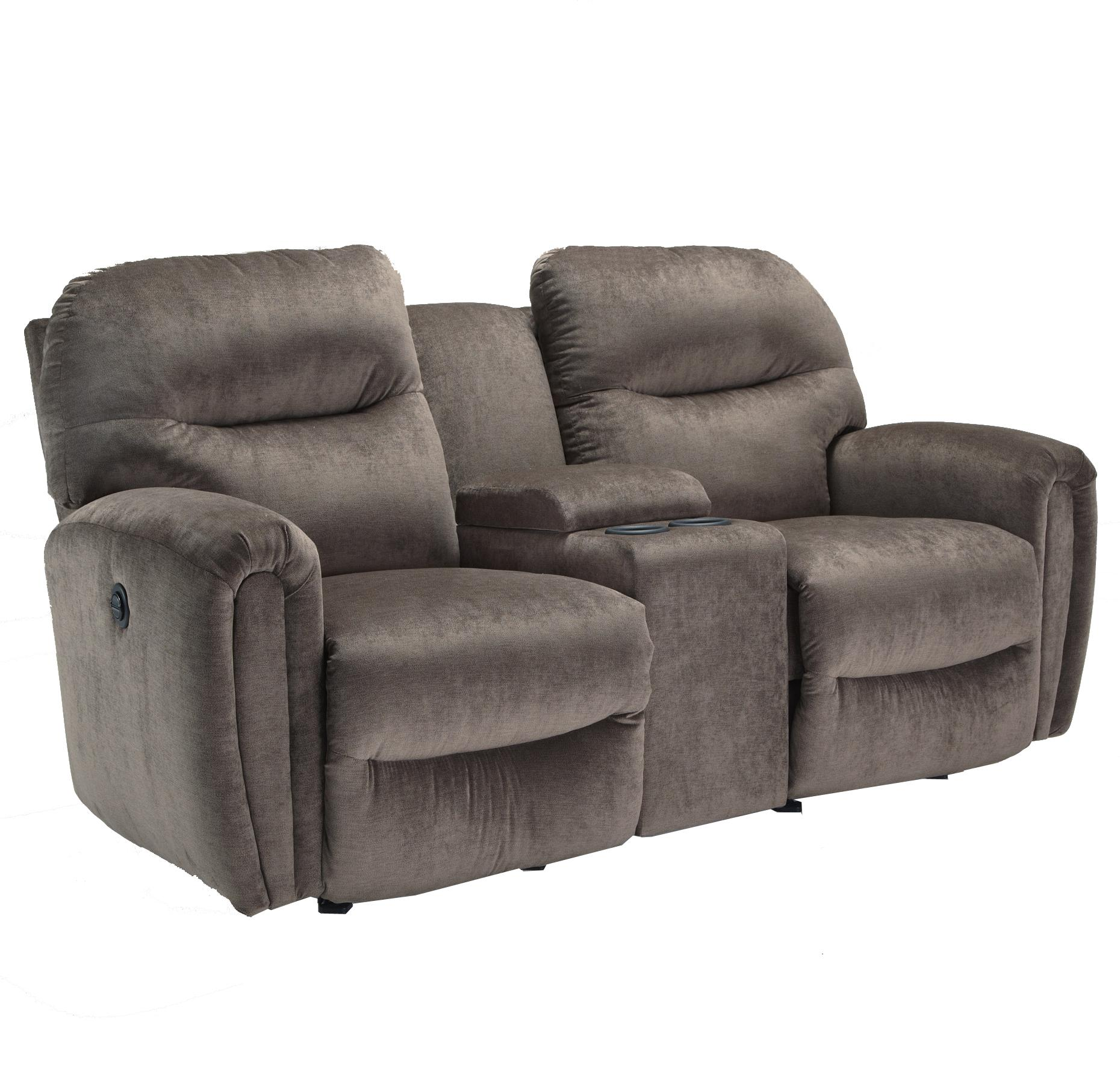 Best Home Furnishings Markson Rocker Console Loveseat - Item Number: L860RC7